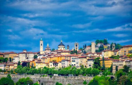 Veduta di Bergamo